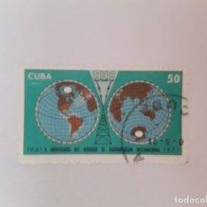 Sellos: CUBA SELLO USADO. Lote 190450708