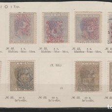 Sellos: LOTE 12-SELLOS CUBA 1883 ALFONSO XII. Lote 191484293