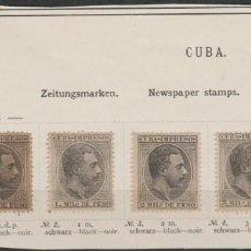 Sellos: LOTE 12-SELLOS CUBA 1884 ALFONSO XII. Lote 191485412