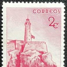 Sellos: 1948. CUBA. 318. CENTENARIO DE LA CONSTRUCCIÓN DEL FARO MORRO EN LA HABANA. SERIE COMPLETA. NUEVO.. Lote 194182967