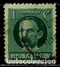 CUBA SCOTT: 0264-(1917) (JOSÉ MARTI) USADO (Sellos - Extranjero - América - Cuba)