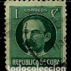 Sellos: CUBA SCOTT: 0264-(1917) (JOSÉ MARTI) USADO. Lote 195074106