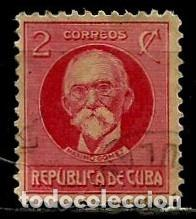 CUBA SCOTT: 0265-(1917) (MAXIMO GOMEZ) USADO (Sellos - Extranjero - América - Cuba)