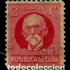 Sellos: CUBA SCOTT: 0265-(1917) (MAXIMO GOMEZ) USADO. Lote 195074191