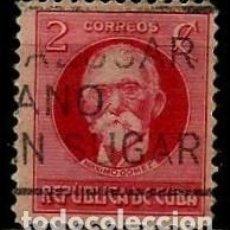 Sellos: CUBA SCOTT: 0265-(1917) (MAXIMO GOMEZ) USADO. Lote 195074223