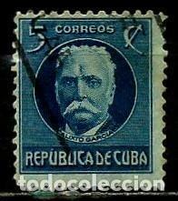 CUBA SCOTT: 0268-(1917) (CALIXTO GARCIA) USADO (Sellos - Extranjero - América - Cuba)