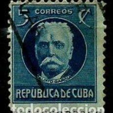 Sellos: CUBA SCOTT: 0268-(1917) (CALIXTO GARCIA) USADO. Lote 195074541