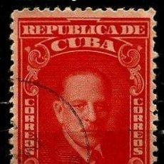 Sellos: CUBA SCOTT: 0403-(1946) (MANUEL MARQUEZ STERLING) USADO. Lote 195238873
