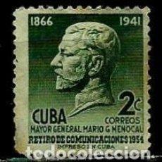 Sellos: CUBA SCOTT: 0543-(1955) (MARIO G. MENOCAL) USADO. Lote 195402501