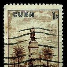 Sellos: CUBA SCOTT: 0637-(1960) (MONUMENTO AL PRESIDENTE TOMAS ESTRADA PALMA) USADO. Lote 195425465