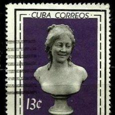 Sellos: CUBA SCOTT: 0820-(1964) (MUSEO NACIONAL) USADO. Lote 195505672