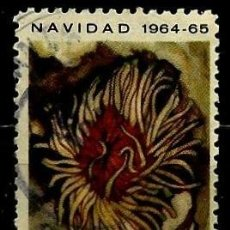 Sellos: CUBA SCOTT: 0917-(1964) (NAVIDAD - ANÉMONA) USADO. Lote 195507673