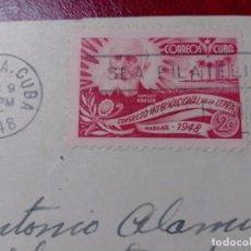 Sellos: MATASELLOS PRIMER DÍA CUBA 1948. Lote 204693775