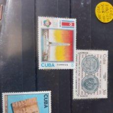 Sellos: CUBA 1986 SERIE NUEVA MANCHITAS. Lote 205383997