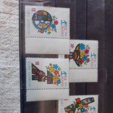 Sellos: 1966 1 DE MAYO FLORES SERIE COMPLETA NUEVA. Lote 205764737