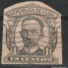 Sellos: LOTE (13) SELLOS CUBA PROCEDE ENTERO POSTAL. Lote 206124580