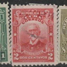 Sellos: LOTE (13) SELLOS CUBA. Lote 206126107