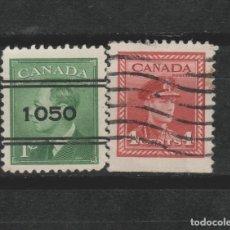 Sellos: LOTE (13) SELLOS CANADA. Lote 206126876