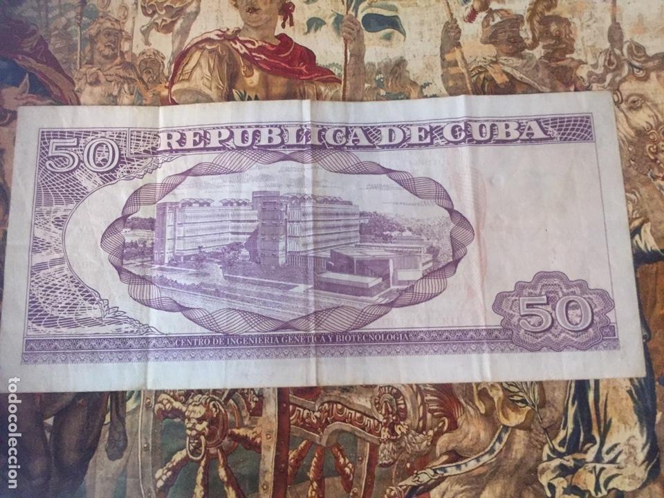 Sellos: Billete 50 Pesos Cubanos 2016 - Foto 2 - 206887606