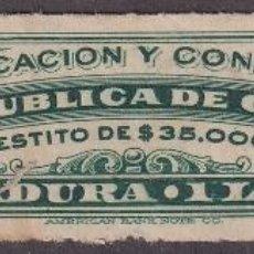 "Selos: ""REP-473 CUBA REVENUE 6C TOBACCO TABACO PICADURA 1 LIBRA."". Lote 209272110"