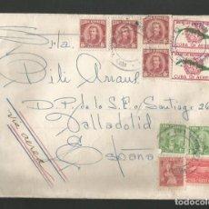 Francobolli: SOBRE CIRCULADA DE CUBA A VALLADOLID. Lote 209893335