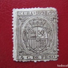 Francobolli: +CUBA 1898 Y 99, FISCAL, TIMBRE MOVIL. Lote 210277556