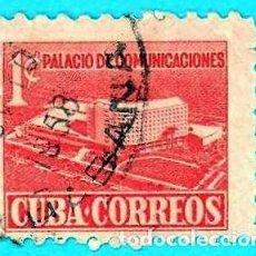 Sellos: CUBA. 1957. PALACIO DE COMUNICACIONES. Lote 211495524