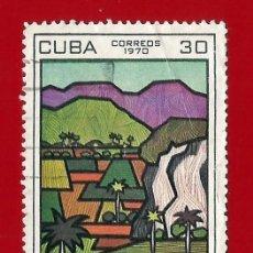 Sellos: CUBA. 1970. TURISMO. VALLE DE VIÑALES. Lote 211498319