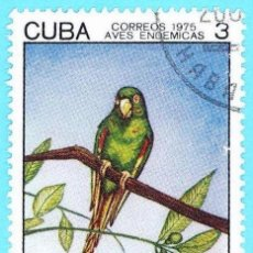 Sellos: CUBA. 1975. AVE ENDEMICAS. CATEY. Lote 211500107