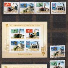 Sellos: CUBA/2006/MNH/SC#4540-43 / 4543A /PERF & IMPERF/ 50º ANIVERSARIO DE SELLOS DE EUROPA CEPT. Lote 212258512