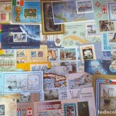 Sellos: HOJAS BLOQUE CUBA. Lote 212282421