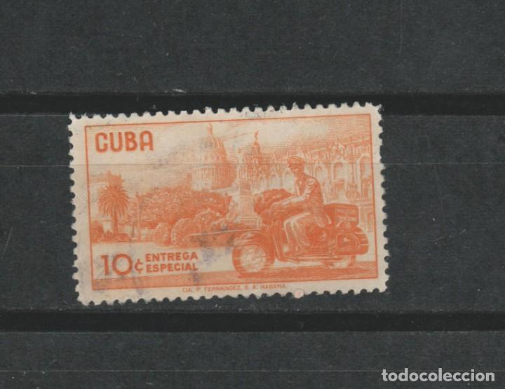 LOTE (17) SELLO CUBA CORREO ENTREGA ESPECIAL (Sellos - Extranjero - América - Cuba)