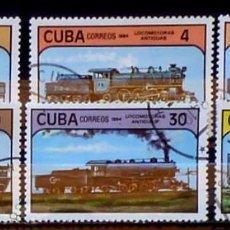 Timbres: SELLOS CUBA 1984- FOTO 821 -SERIE, USADO. Lote 219826862