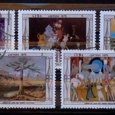 Timbres: SELLOS CUBA 1975 - FOTO 836, USADOS. Lote 219827950