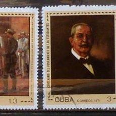 Sellos: SELLOS CUBA 1971- FOTO 822, USADO. Lote 219829440