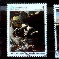Sellos: SELLOS CUBA 1980 - FOTO 513 , USADO. Lote 219860525