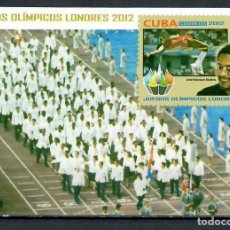 Francobolli: 5610 CUBA 2012 MNH OLYMPIC GAMES - LONDON, ENGLAND SPORT, OLYMPIC GAMES. Lote 220909707