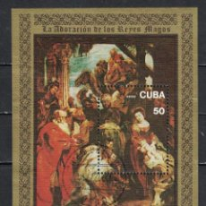 Francobolli: 2267-3 CUBA 1977 U AIRMAIL - THE 400TH ANNIVERSARY OF THE BIRTH OF PETER PAUL RUBENS, 1577-1640 PAIN. Lote 220910818