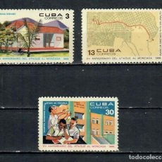 Sellos: 1416-2 CUBA 1968 NG THE 15TH ANNIVERSARY OF THE ATTACK ON MONCADA BARRACKS REVOLUTION. Lote 221676218