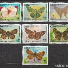 Sellos: 5827-2 CUBA 2014 MNH BUTTERFLIES BUTTERFLIES. Lote 221676233