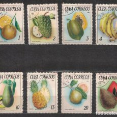 Sellos: 1083-3 CUBA 1965 U TROPICAL FRUITS FRUIT. Lote 221676235