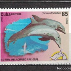 Sellos: 5366 CUBA 2010 MNH COMMON BOTTLENOSE DOLPHIN DOLPHINS. Lote 221676248