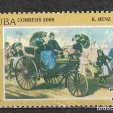 Sellos: 5134 CUBA 2008 MNH MERCEDES-BENZ CARS. Lote 221676256