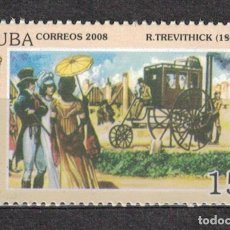 Sellos: 5130-1 CUBA 2008 MNH LONDON STEAM CARRIAGE CARS. Lote 221676290