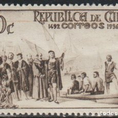 Sellos: CUBA 1936 EDIFIL NE4 SELLO * EXPLORADORES NAVEGANTES CRISTOBAL COLON NO EXPEDIDO REPUBLICA DE CUBA. Lote 222160606