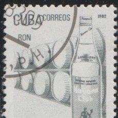Sellos: CUBA 1982 SCOTT 2489 SELLO * EXPORTACIONES BEBIDAS RON RUM MICHEL 2638 YVERT 2341 STAMPS TIMBRE. Lote 222162986