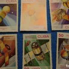 Sellos: 1974, CUBA, DIA MUNDIAL DEL AEROESPACIO. S/C. Lote 223537325