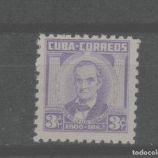 Francobolli: LOTE B-SELLO CUBA NUEVO SIN CHARNELA AÑO 1956. Lote 224824607