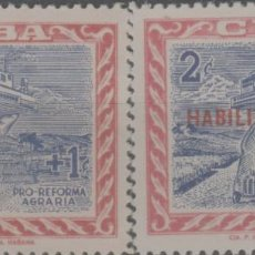 Francobolli: LOTE B-SELLOS CUBA NUEVOS SIN CHARNELA. Lote 224834681