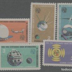 Francobolli: LOTE C-SELLOS CUBA SERIE COMPLETA. Lote 224973345